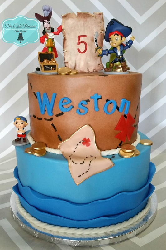 Jake And The Never Land Pirates Cake2orig The Cake Bazaar