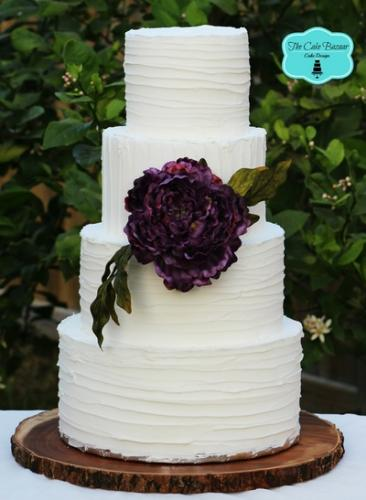 The Cake Bazaar -  Custom made Wedding cakes in Mcallen